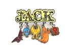 Jack Skellington Spooky Icon Dangle