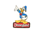 Retired Donald Duck Disneyland Sign