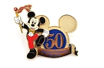 Jeweled Mickey WDW 50th Happiest Celebration
