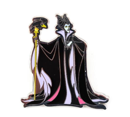 Maleficent with Diablo! Disney Pin *Villain /& Sidekick* Collection
