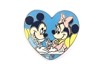Minnie and Mickey Sweethearts Holding Hands