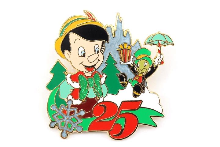 Jiminy Christmas.Pinocchio And Jiminy Cricket Christmas 25th Anniversary
