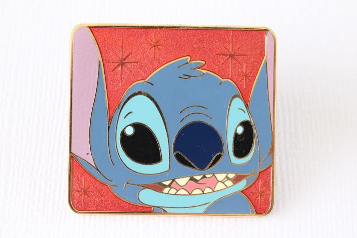 Stitch in Pink Square