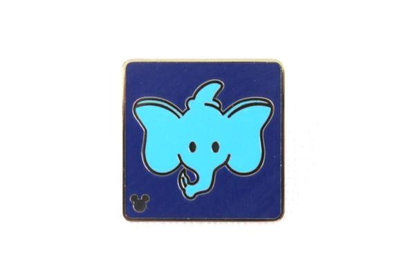 Dumbo Attraction Icon - 2017 Hidden Mickey