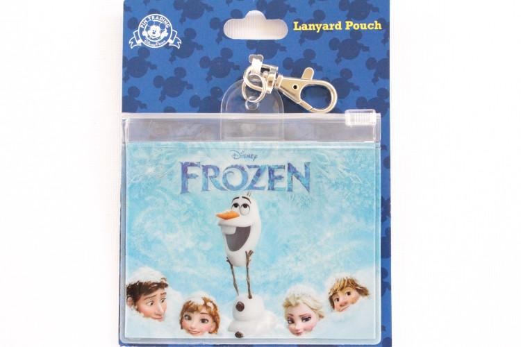 Frozen Lanyard Pouch Card Holder