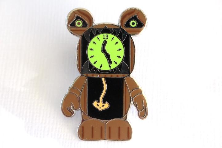 Haunted Mansion Clock - Vinylmation Pin