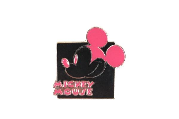 Mickey Expression - Pink Smiling