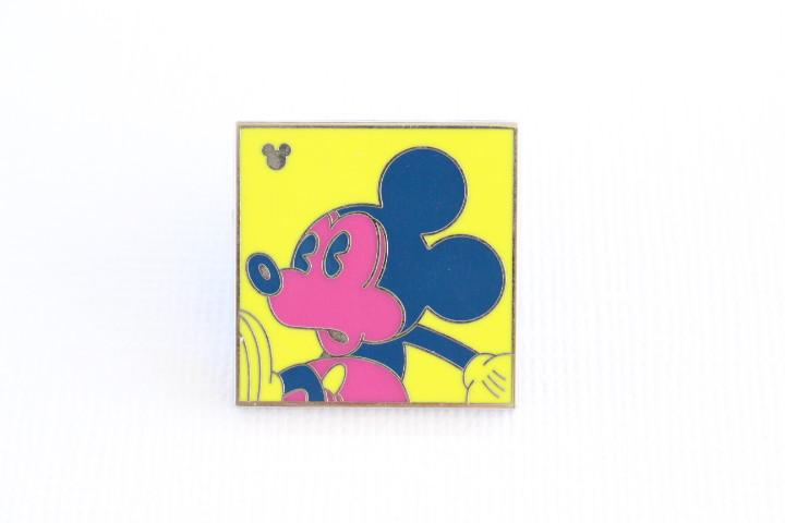 Neon Mickey Yellow COMPLETER Pin
