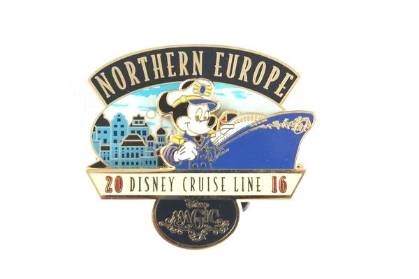 Mickey Northern Europe Disney Cruise Line