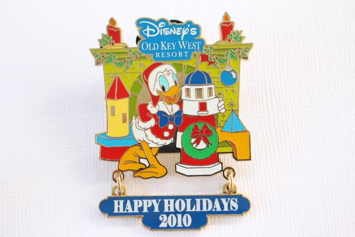 Old Key West Happy Holidays Donald Duck