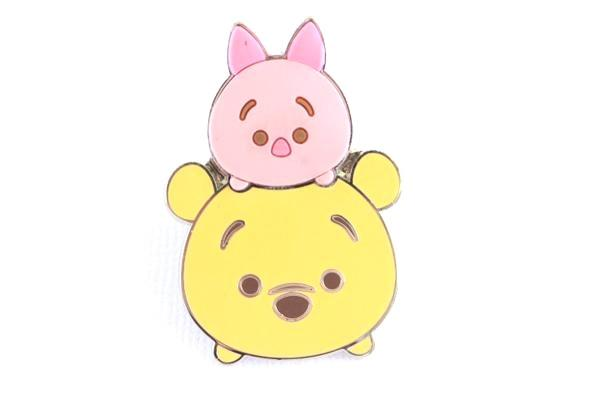 Pooh and Piglet 3D Stacked Tsum Tsum