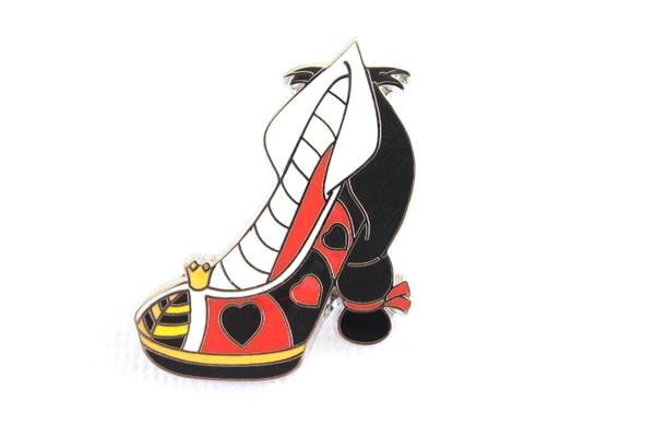 Queen of Hearts Villain High Heel Shoe