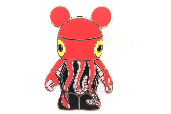 Red Squid - Vinylmation Pin
