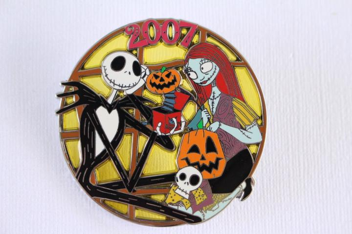 Stained Glass Jack and Sally