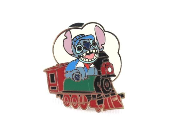 Stitch on a Train