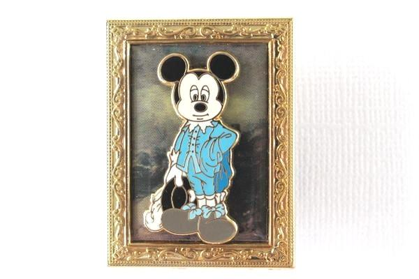 The Blue Boy Mickey - Rare Museum Painting