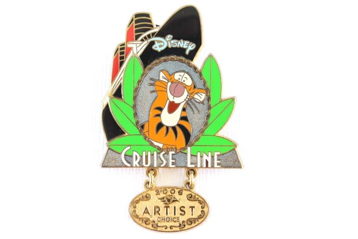Tigger Cruise Line Artist Choice Dangle