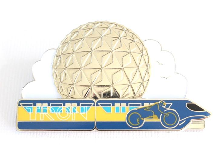 Tron Monorail Spaceship Earth