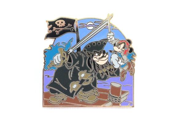Blackbeard Pete and Mickey - Pirates of the Caribbean