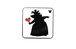 Queen of Hearts Card Silhouette 2018