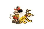 Classic Mickey with His Dog Pluto