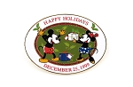 1999 Happy Holidays Mickey and Minnie