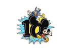 Mickey and Donald 2010 Dated Year Logo