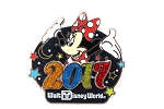 Minnie Mouse 2017 Glitter Year Logo