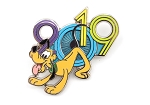 Pluto 2019 Dated Year Pin