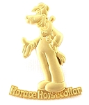Horace Horse - Sculpted Gold