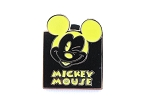Mickey Expression - Neon Yellow Winking