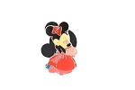 Minnie Formal Wear Tiny Pin