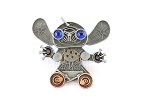 Stitch Mechanical Robot with Gears