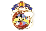 Mickey Pin Trading Around the World Tribute Collection