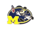 University of Michigan Mickey Football