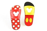 Mickey and Minnie Sandals 2 pin set