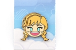 Frozen Anna Happy Emoji