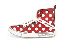 Minnie Sneaker with 3D Shoelace