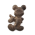 Classic Brass Metal Mickey Mouse