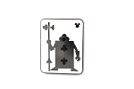 Club Card Silhouette 2018 Hidden Mickey Alice