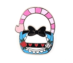 Alice in Wonderland Purse Pin
