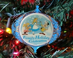 Alice in Wonderland Christmas Ornament Anniversary Cast Member