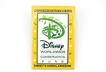 Yellow Animal Kingdom Conservation Button