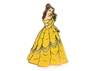 Princess Belle - Glitter Ball Gown
