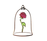 Belle's Enchanted Rose in Glass Jar