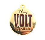 Bolt Paris Volt Golden Metal Dog Name Tag Pin