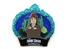 Blue Frame Bowler Hat Man - Haunted Mansion