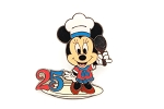 Chef Minnie Standing on Plate with Spoon