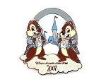 Chip and Dale Cloud Castle Dreams Come True Visa