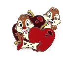 Chip and Dale Apple Food Hidden Mickey